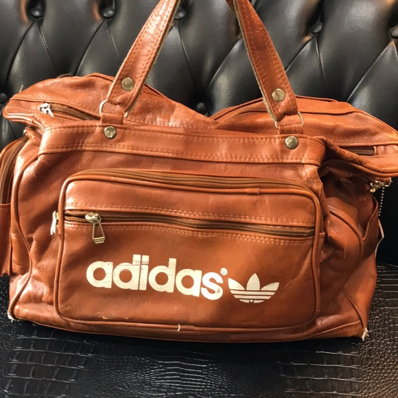 Pin by Fridza on Adidas | Vintage adidas, Adidas bags, Brown